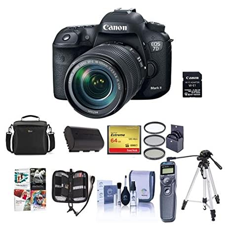 Amazon.com: Canon EOS 7D Mark II Cámara réflex digital con ...