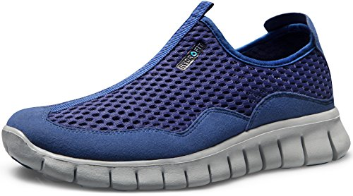 TF-L513-NVY_Men 11 D(M) Tesla Men's Ultra Lightweight Running Shoes L513
