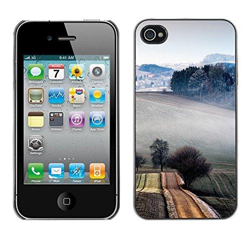 Hülle Case Schutzhülle Cover Premium Case // F00000050 Bauernhof // Apple iPhone 4 4S 4G