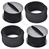 Techypro Compatible 2 Sets Circular Filter Sets Replacement for Bissell Power Force & Helix Turbo 32R9 203-7913, 203-2587, 203-1464, 203-1192, 203-1183, 203-8161 73K1