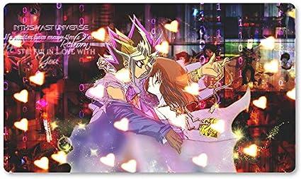 Juego de mesa Yugioh para juegos de mesa de 60 x 35 cm, alfombrilla de juego para Yu-Gi-Oh! Pokemon Magic The Gathering: Amazon.es: Oficina y papelería