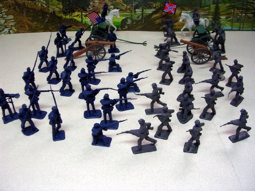 50 Pieces Civil War Toy Soldiers ()