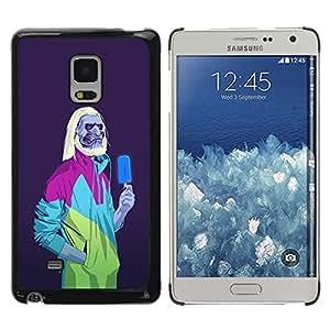 Planetar® ( Ice Cream Zombie Neon Retro White Walker ) Samsung Galaxy Mega 5.8 / i9150 / i9152 Fundas Cover Cubre Hard Case Cover