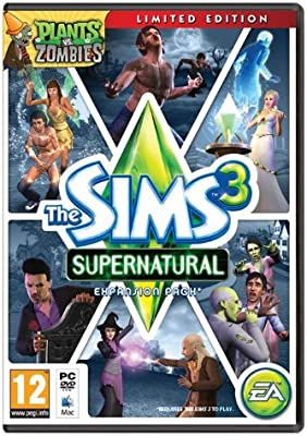 The Sims 3 Supernatural - Limited Edition (PC DVD) [Importación inglesa]: Amazon.es: Videojuegos