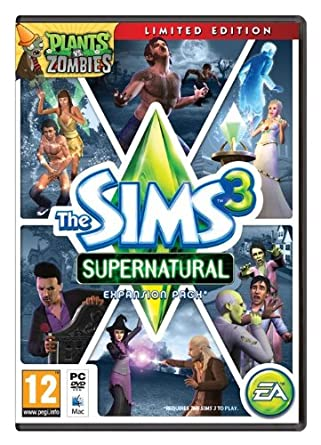 The Sims 3 Supernatural Limited Edition Pc Dvd Uk Import Games