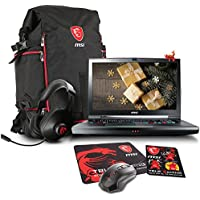 MSI GT75VR TITAN SLI 4K-028 17.3 4K Gaming Laptop - Intel Core i7-7820HK (KabyLake), Dual NVIDIA GTX 1070, 32GB RAM, 512GB SSD + 1TB HDD + Gaming Bundle