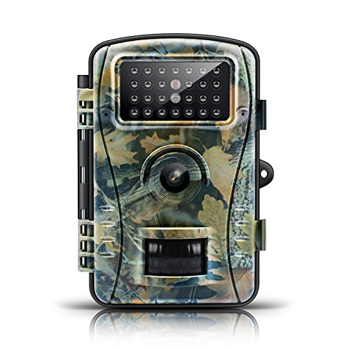Trail Game Camera-ENKLOV Wildlife Hunting Camera with Infrared Night Vision26pcs 940nm IR LEDs2.4inch LCD ScreenIP54 Waterproof