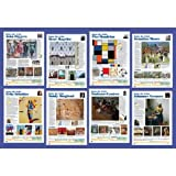 American Educational Products CP6116,''Know The Artist'' Set (Sixth), Pack of 5 pcs