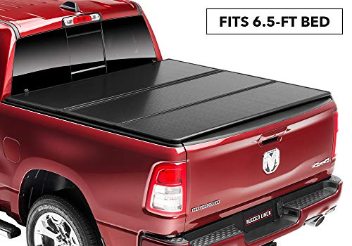 Rugged Liner E-Series Hard Folding Truck Bed Tonneau Cover | EH-D6509 | fits 09-19 Dodge Ram 1500/2500/3500 & 19 Classic, 6'5