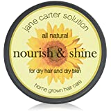 Jane Carter Solution All Natural Nourish and Shine for Dry Hair and Dry Skin, 4 Ounce