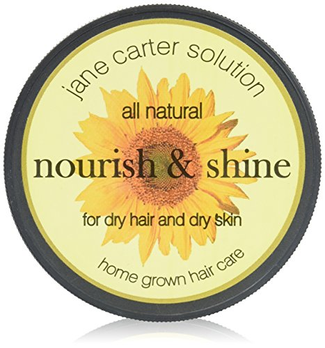 Shine Solution - Jane Carter Solution All Natural Nourish and Shine for Dry Hair and Dry Skin, 4 Ounce