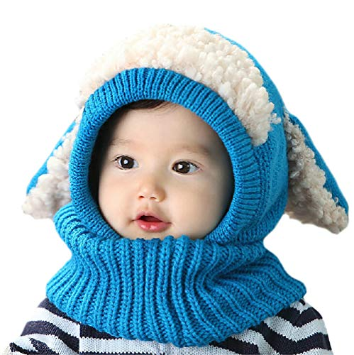 YSense Baby Girl Boy Winter Hats Scarf Earflap Hood Scarves Skull Caps