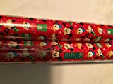 Best Disney Of Eves - Holiday Christmas Gift Wrapping Paper - 20 sq Review