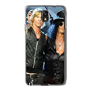 Protective Cell-phone Hard Covers For Samsung Galaxy Note3 (TVb3236Xchl) Support Personal Customs Realistic Guns N Roses Pictures