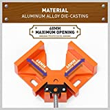 HORUSDY 90° Right Angle Clamps/Corner Clamp tools