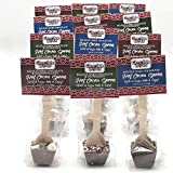 Hot Chocolate on a Spoon, 12 Variety Pack, Milk Chocolate with Marshmallows, Dark Chocolate, Dark Chocolate Peppermint