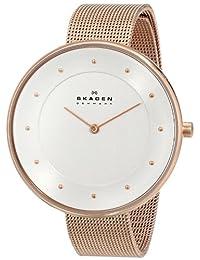 Skagen Women's SKW2142 Gitte Quartz 2 Hand Stainless Steel Rose Gold Watch