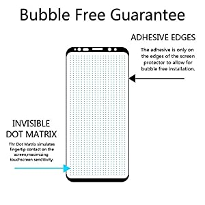 LK for Samsung Galaxy S9 Screen Protector, Tempered Glass [Case Friendly][Alignment Frame Easy Installation][3D Curved][Full Coverage] with Lifetime Replacement Warranty by LK