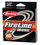 Berkley FireLine Original Fused Fishing Line 125 – yd., FLAME GREEN, 20 LB, Outdoor Stuffs