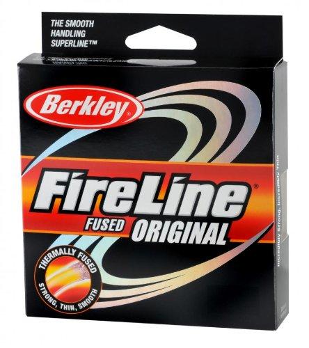 Berkley FireLine Original Fused Fishing Line 125 – yd., FLAME GREEN, 20 LB, Outdoor Stuffs