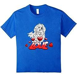 Maltese Dogs Love T-Shirt I Love Maltese Dogs Fans Gift