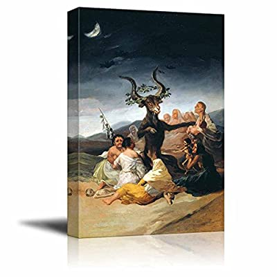 Pretty Expertise, Made For You, The Sabbath of Witches by Francisco Goya Print Famous Painting Reproduction