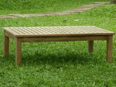 Atlanta Teak Furniture - Teak Rectangular Coffee Table - Grade A - 48x30