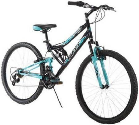 side facing huffy 26-inch women's trail mountain bike
