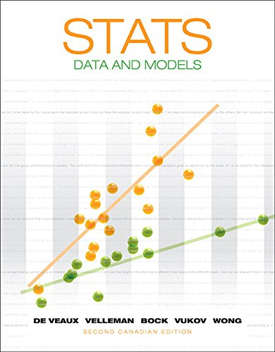 Stats: Data and Models, Second Canadian Edition (2nd Edition)