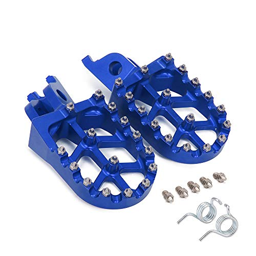 AnXin Foot Pegs Footpegs Footrests Foot Pedals Rests CNC MX For Honda CR125/250 CRF150R CRF250R CRF250X CRF250RX CRF450R CRF450RX CRF450X CRF450L CRF250L/M CRF250RALLY Kawasaki KX250 450 Motorcycle (Best 450 Dirt Bike 2019)