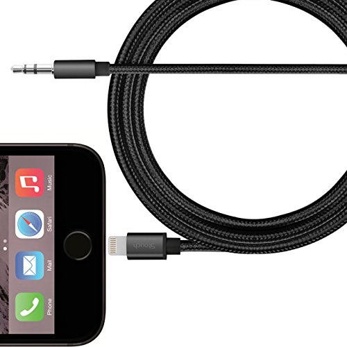 Lightning Stouch Auxiliary Braided Cable Black product image