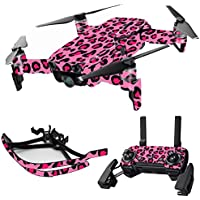 MightySkins Skin for DJI Mavic Air Drone - Pink Leopard | Max Combo Protective, Durable, and Unique Vinyl Decal wrap cover | Easy To Apply, Remove, and Change Styles | Made in the USA