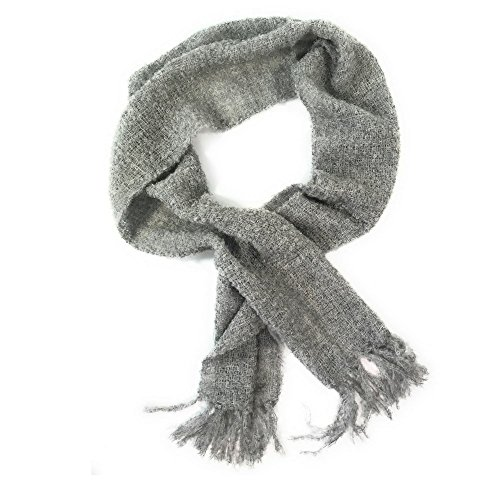 Beautiful Alpaca Boucle Scarf made by Peruvian Accent. (Light (Alpaca Boucle Scarf)