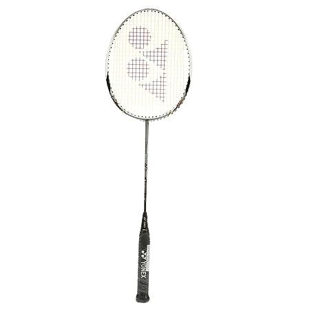 Yonex Carbonex 8000N Badminton Racquet, 3U G4  Silver/Black  Badminton Racquets