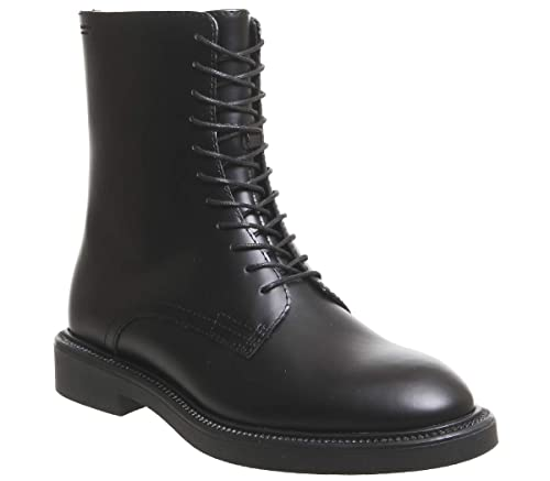 baaf1f2ac24 Vagabond Alex Lace Boot Hi Black Polished Leather - 3 UK