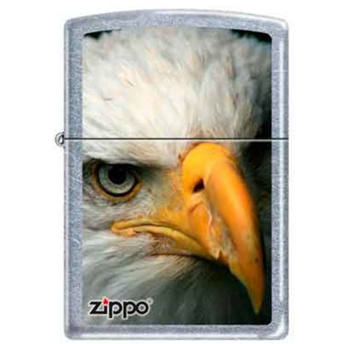 Price comparison product image Zippo Custom Lighter Bald Eagle Bird Head