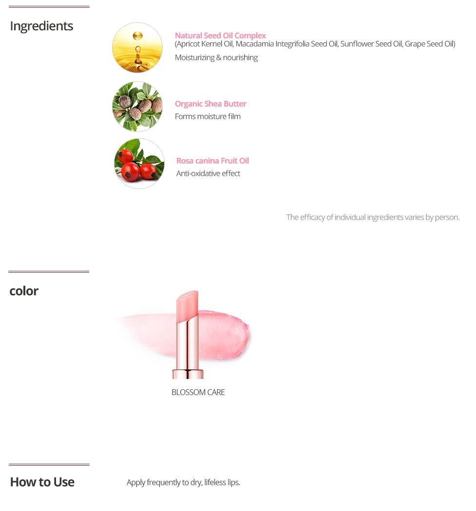 [LABIOTTE] Petal Affair Lip Glow Stick #1 Blossom Care 4g