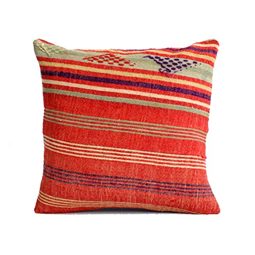 20x20 Kilim Pillow Southwest Pillow Turkish Pillow Suzani Pillow Moroccan  Pillow Bohemian Pillow Bohemian Home Decor