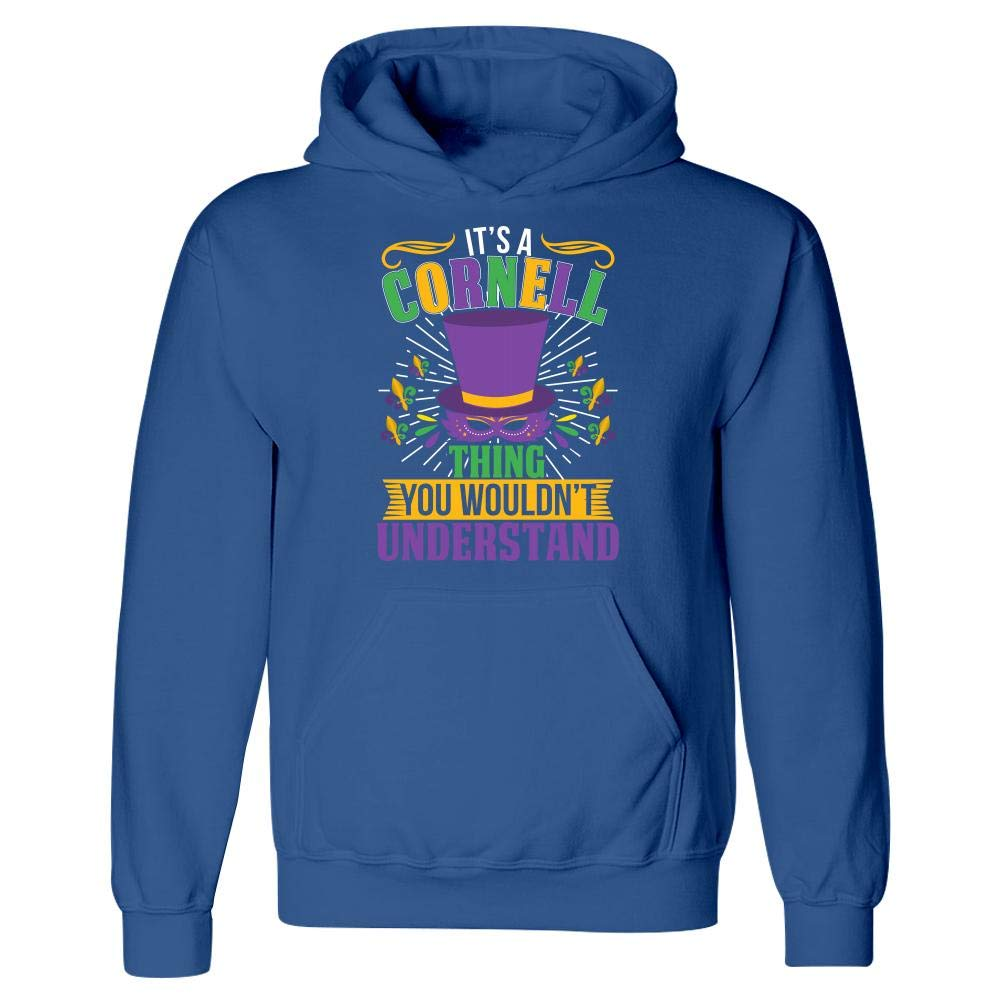 Hoodie Amazing Fan Store Its a Cornell Thing You Wouldnt Understand Mardi Gras Gift