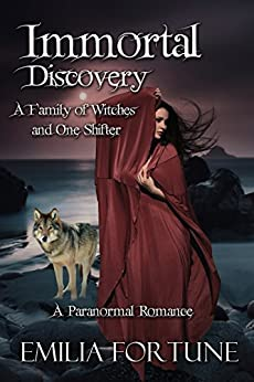 Immortal Discovery Paranormal Romance Witches ebook