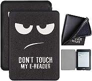 Capa Kindle 10ª geração com iluminação embutida – Auto Hibernação – Fecho Magnético – Silicone - Don't Tou