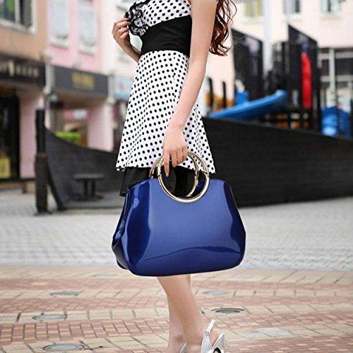 Stylel Fashion Vesa Pink Leather Evening Small Minimalist Women Vintage Handbag Manka Classic Clutch Tote wX10BBHq