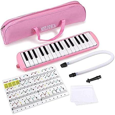 SHMDSQ 37 Teclas Instrumento de Piano de Boca Profesional ...