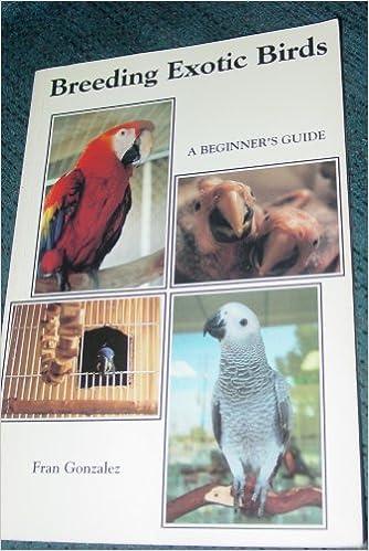 Amazon in: Buy Breeding Exotic Birds: A Beginner's Guide