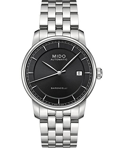 mido-m86004131-watch-baroncelli-ii-mens-grey-dial-stainless-steel-case-automatic-movement