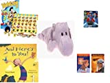 Children's Gift Bundle - Ages 3-5 [5 Piece] - Hasbro Yahtzee Jr. Toy Story 3 Game - Superman Figurine Toy - TY Beanie Baby - Happy the Hippo - And Here's To You. Hardcover Book - Women's History Pac