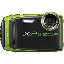 Fujifilm XP120 Waterproof Digital Camera, Lime Green