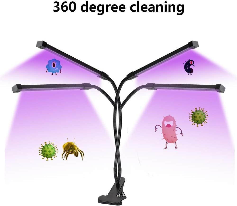 F/üR Auto Haushalts Schule USB Handheld Licht Sterilisator,UV-Desinfektionslampe Antibakterielle Rate 99/% Hand UV Lampe Sterilisator UV keimt/ötende Lampe Desinfektion Lampe