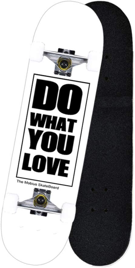 KTYXDE スケートボード大人子供ダブルロッカー学術道路ブラシストリートアウトドアスポーツおもちゃ (Color : 白い) 白い