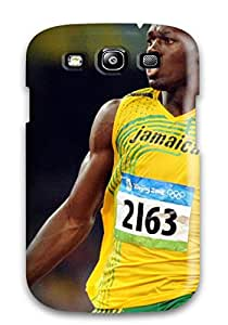 Laurie Crisci Case Cover For Galaxy S3 - Retailer Packaging Usain Bolt Running Protective Case